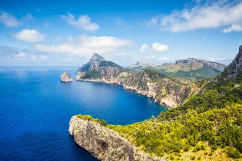 Sailing Cap Formentor Skippered Week Charter
